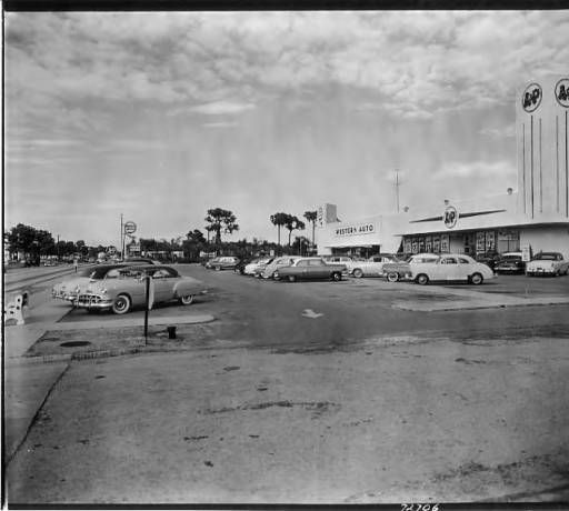 A P Supermarket And Western Auto 1100 Block Of South Dale Mabry Highway Tampa Fla Burgert Brothers Photographic Collec Tampa Old Florida Tampa Bay Area
