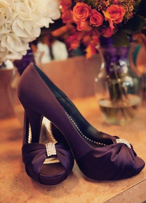 50 Dark Purple Wedding Ideas To Rock Purple Wedding Shoes Fun Wedding Shoes Dark Purple Wedding