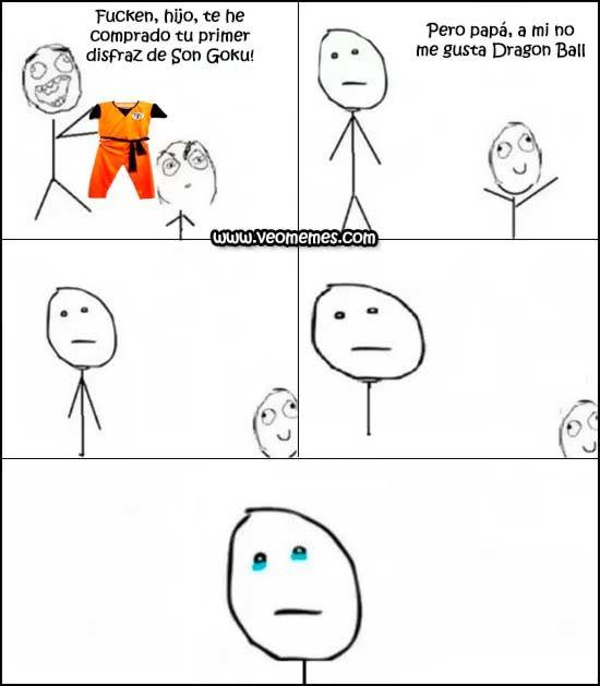 Tu primer disfraz de Son Goku