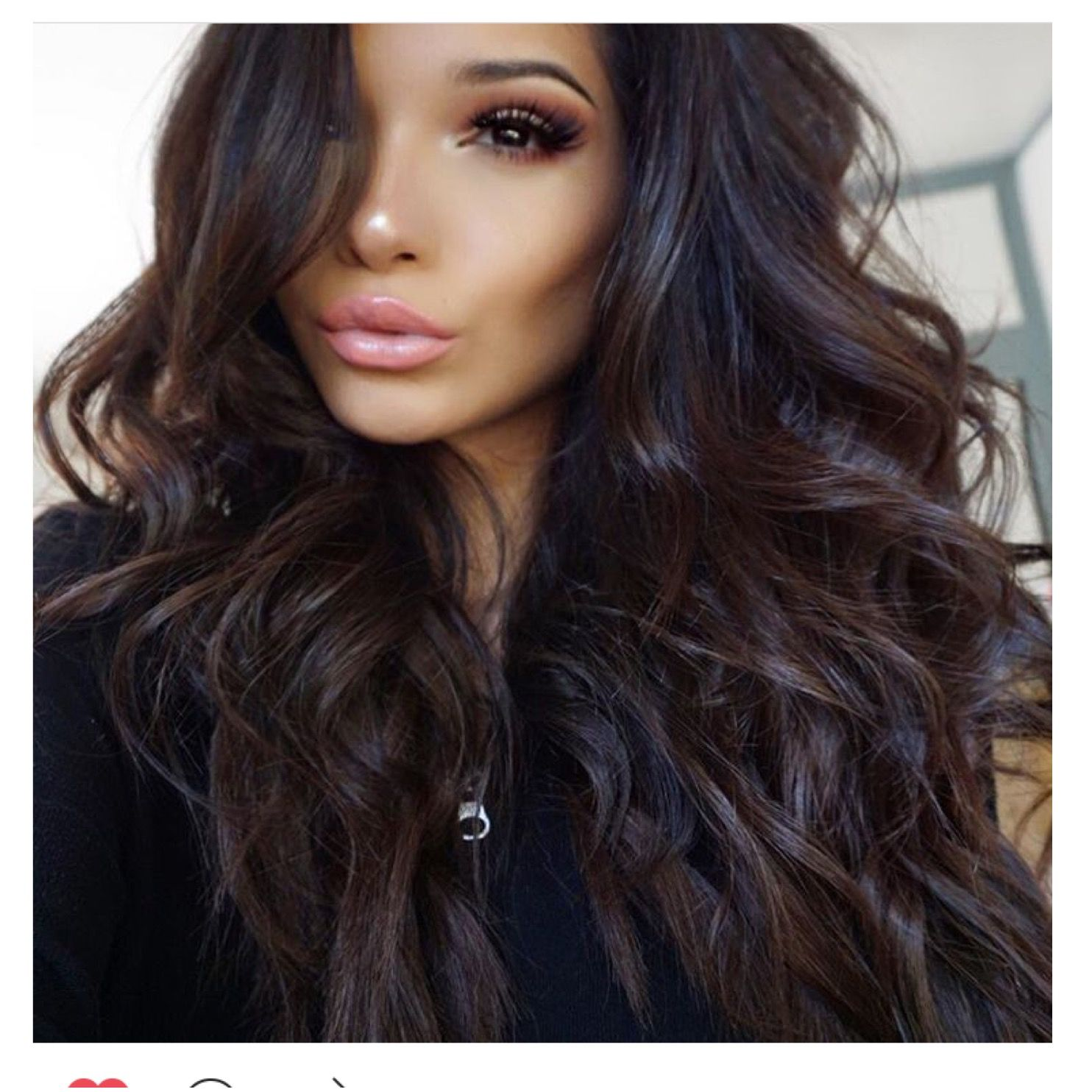 If You Want To Get Extra Dark And Moody With A Mahogany Hairstyle Use The Cool Reddish Brown As Your Base Color Add Black Lowlights In Balayage Or