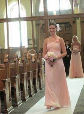 Bridesmaid Dress Belsoie L3001 Sweet Pea