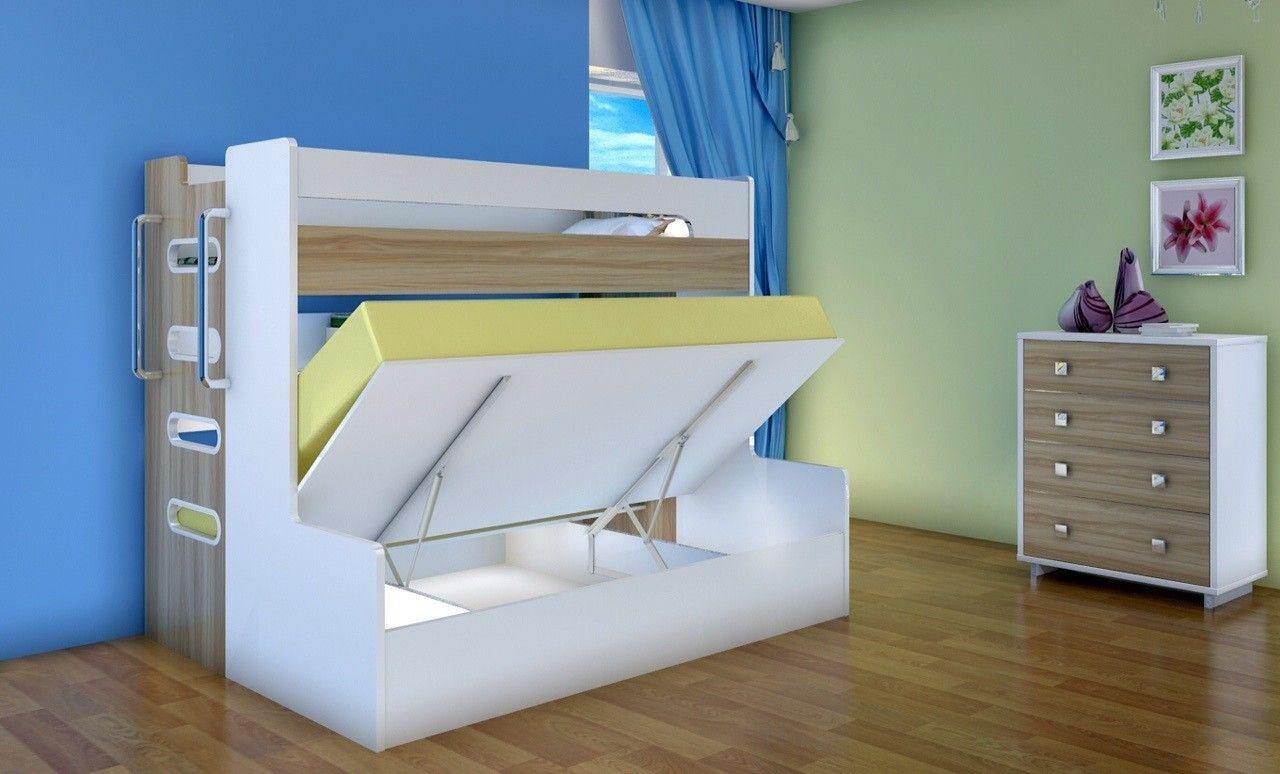 Alpha Single Over Double Gas Lift Bunk | Cheap bunk beds