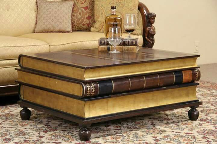 Maitland Smith Leather Gold Leaf Coffee Table