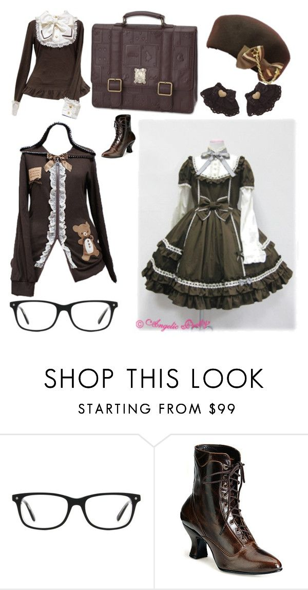 """46: Glasses:Lolita Fashion 50"" by limerick-riddle ❤ liked on Polyvore featuring Kensington Road, Disney, lolita, lolitafashion and LolitaStyle"