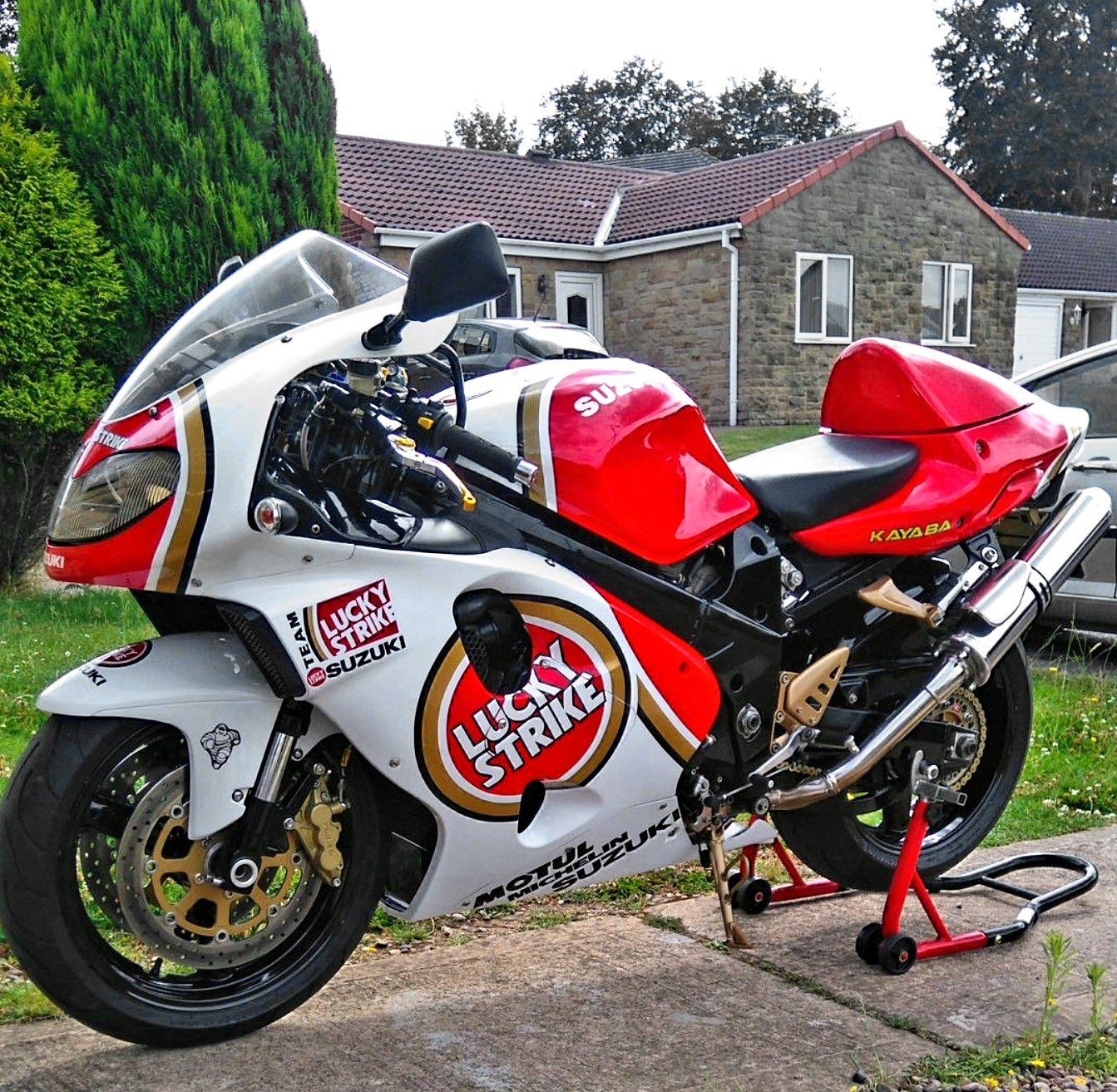 Custom Lucky Strike 2000 Suzuki Tl1000r Suzuki Motorcycles