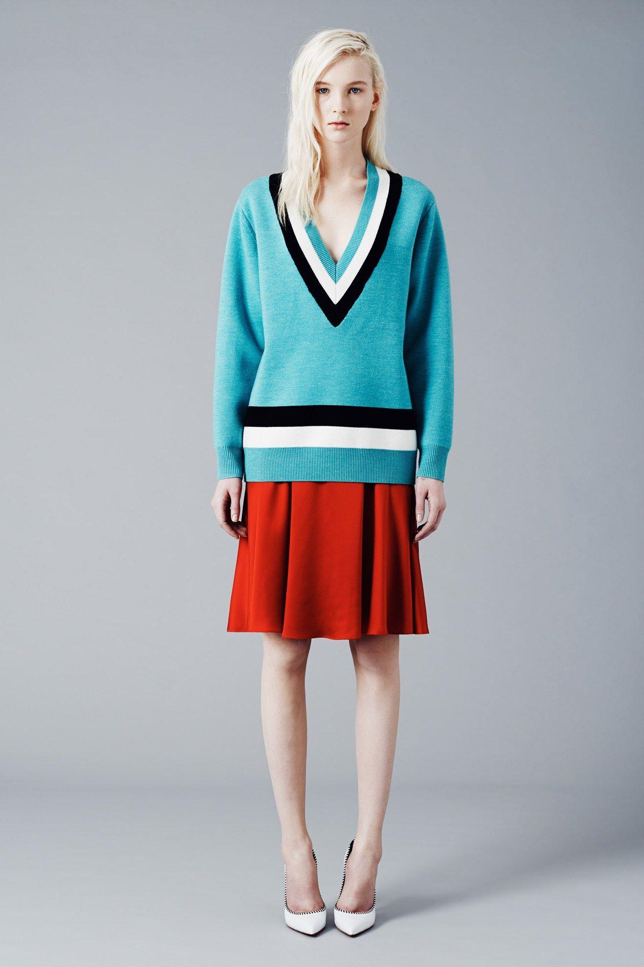 Jonathan Saunders fashion collection, pre-autumn/winter 2014