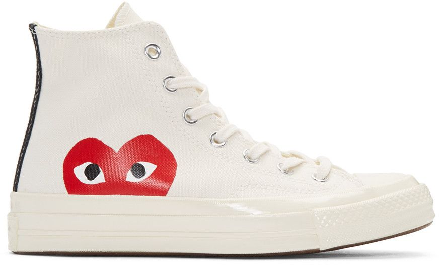 converses montantes blanches femme