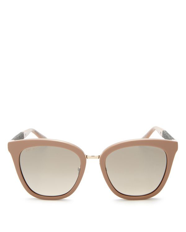 Jimmy Choo Black Sunglasses with Brown Lenses, FABRY/S