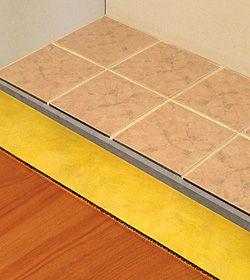 Tile Floor Underlayment