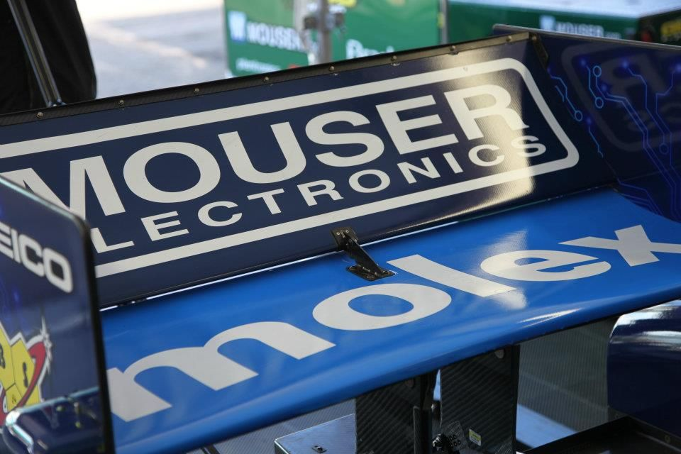 Mouser electronics indycar electronics companies