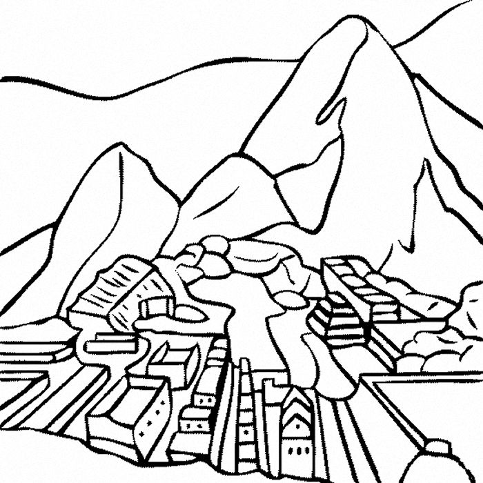 coloring pages of peru - photo#22