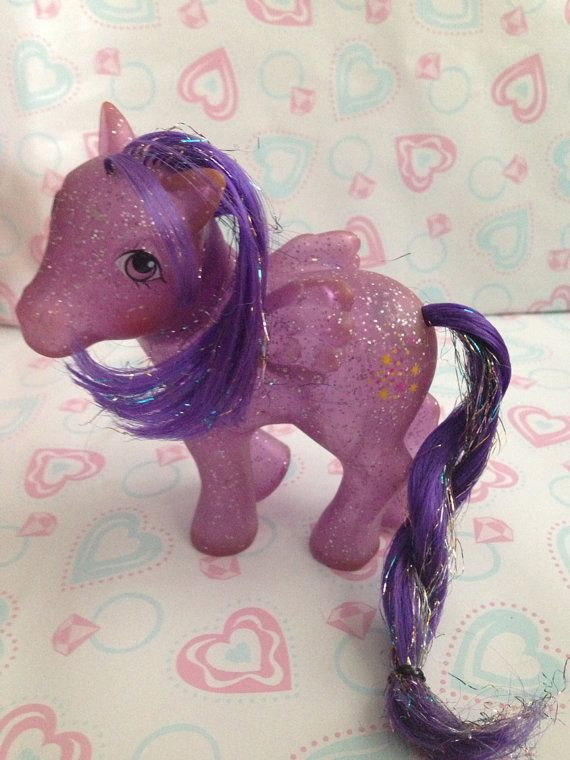 Vintage my little pony sparkle twinkler g on etsy