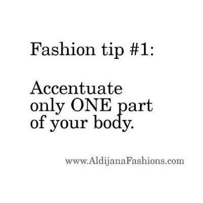 ALDIJANA Style Studio: Fashion Tip 1