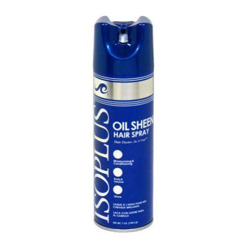 Isoplus Oil Sheen Hairspry 7oz Regular