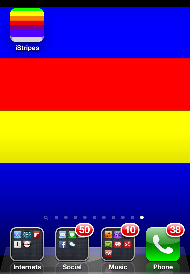 Add Some Color To Your IPhone With IStripes Wallpaper Maker Change It Up Whenever You