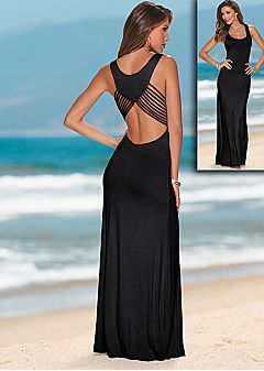 Maxi Dresses - One Shoulder, Strapless Maxi Dress & Sexy Open Back ...