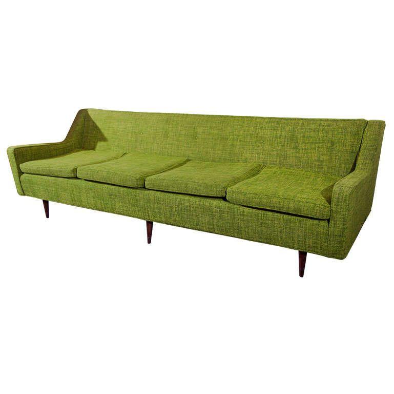 Madman Green Retro Sofa For