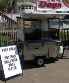 Anyone Want To Buy A Hot Dog Cart Hot Dog Cart Hot Dogs Hot