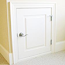 how to build a dormer door