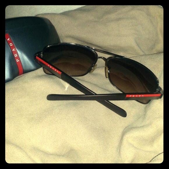 69a2f79e0500 ... top quality authentic prada sunglasses sps54i 5av 6s1 authentic prada  sunglasses made in italy. the