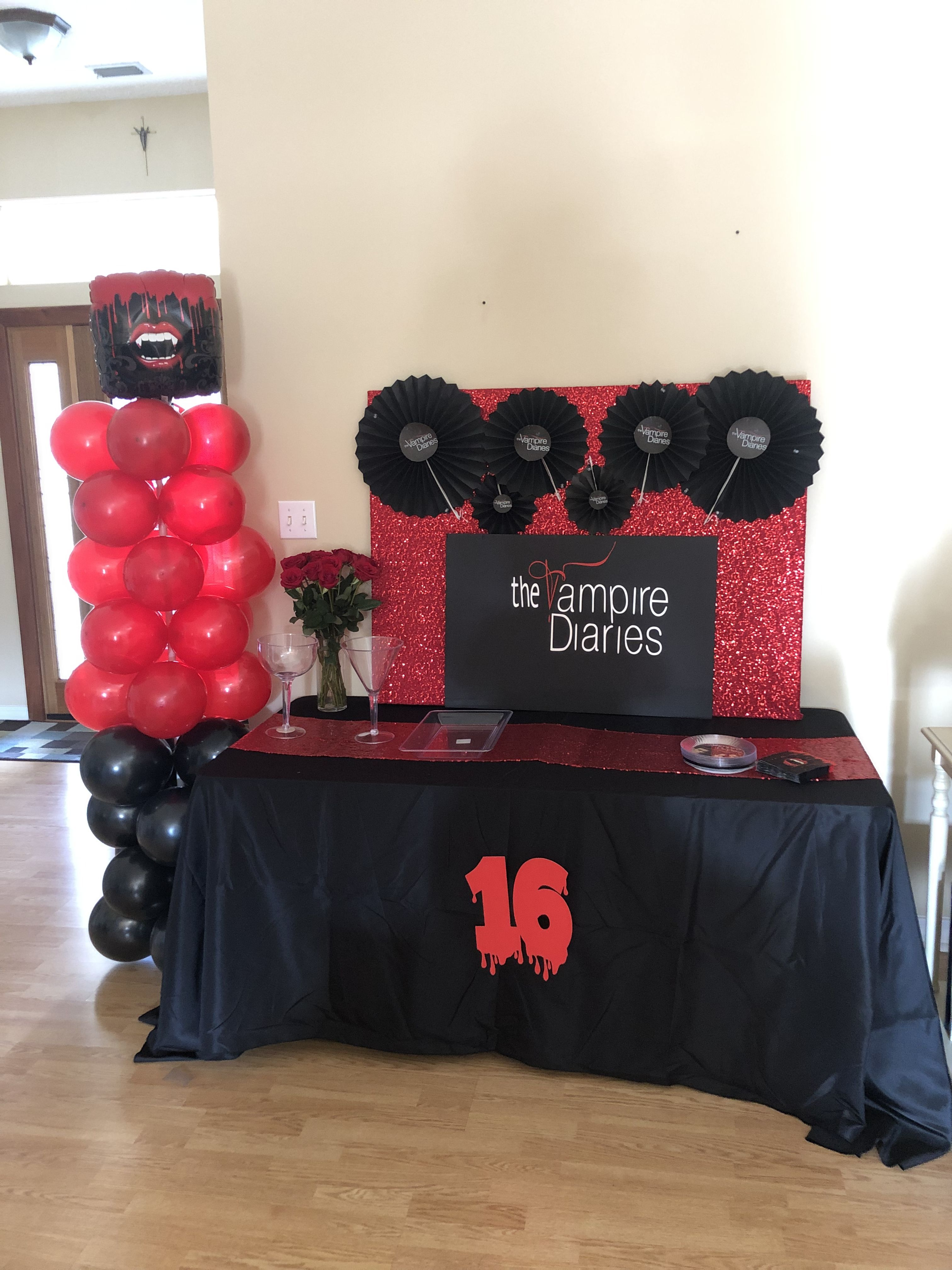 Pin by sweet tea 37 on vampire diaries birthday party