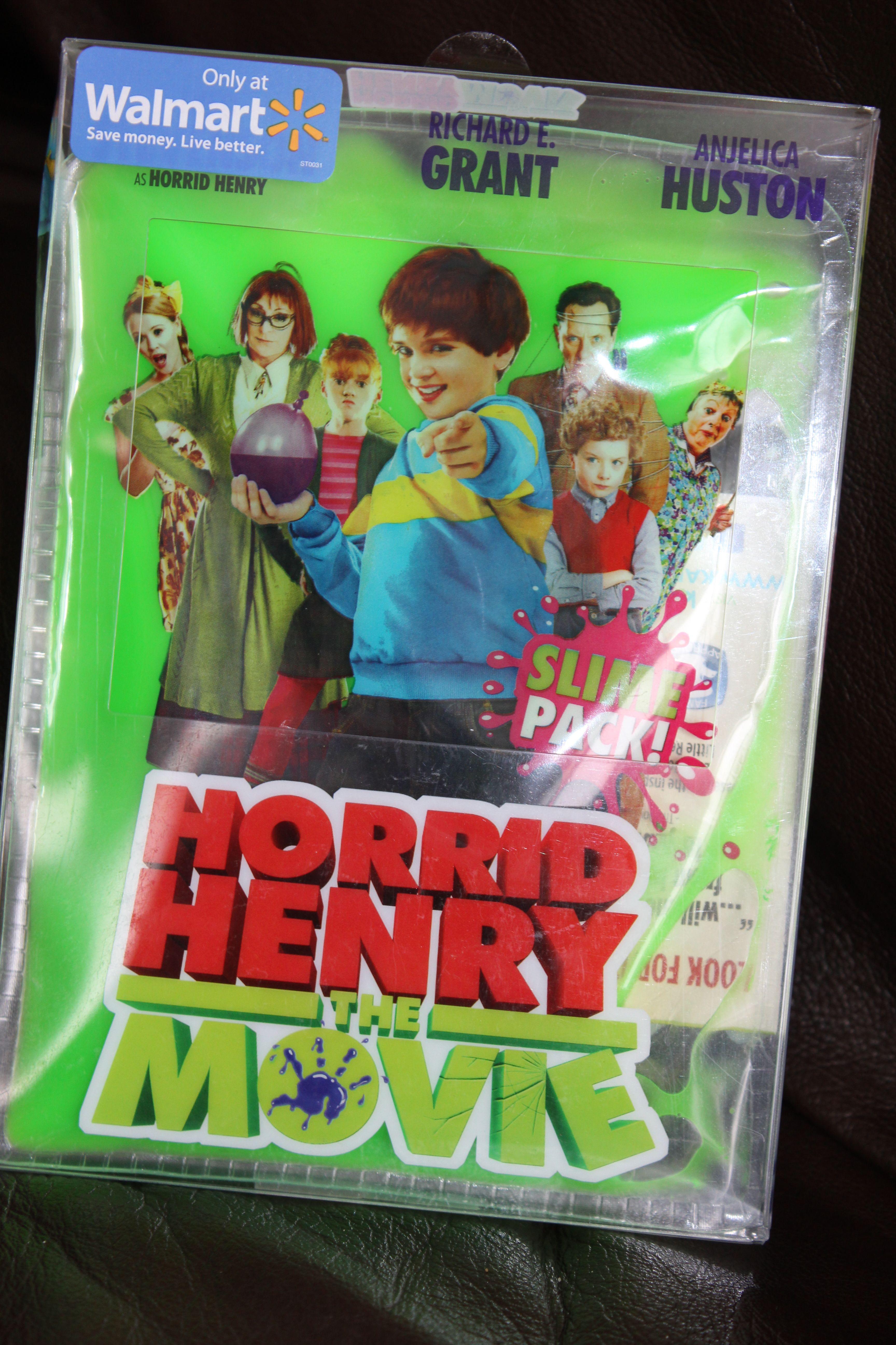 Create a fun family movie night! Horrid Henry The Movie