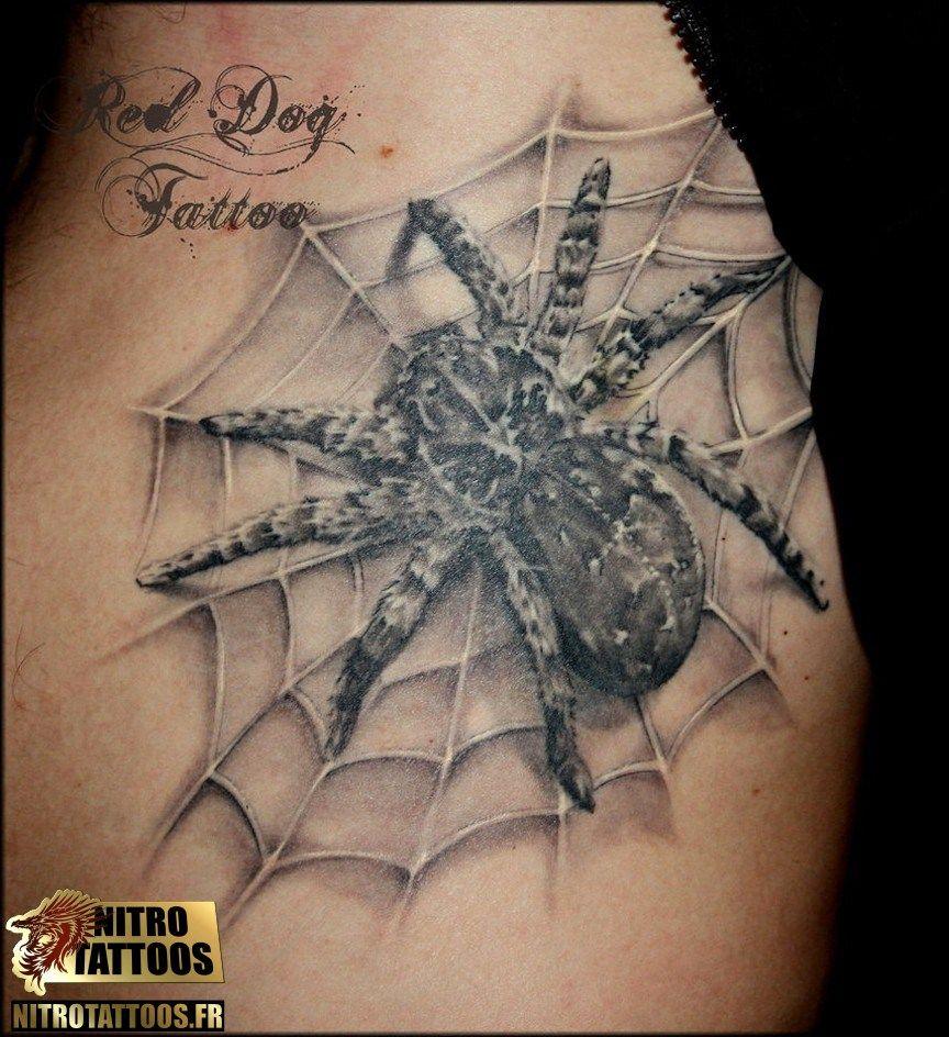 tatouage toile araign e tattoo pinterest araign es tatouages et toile araign e. Black Bedroom Furniture Sets. Home Design Ideas
