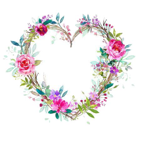 سكرابز ورود وفراشات بخلفيات شفافه2017 سكرابز براويز 3dlat Net 08 17 Af40 Floral Floral Wreath Wedding Planner Printables