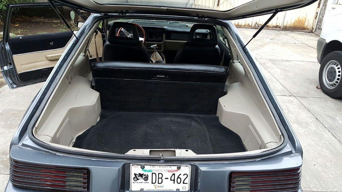Ford Mustang Burbuja 84 Excelentes Condiciones, Oportunidad! - $ 68,000.00 en Mercado Libre