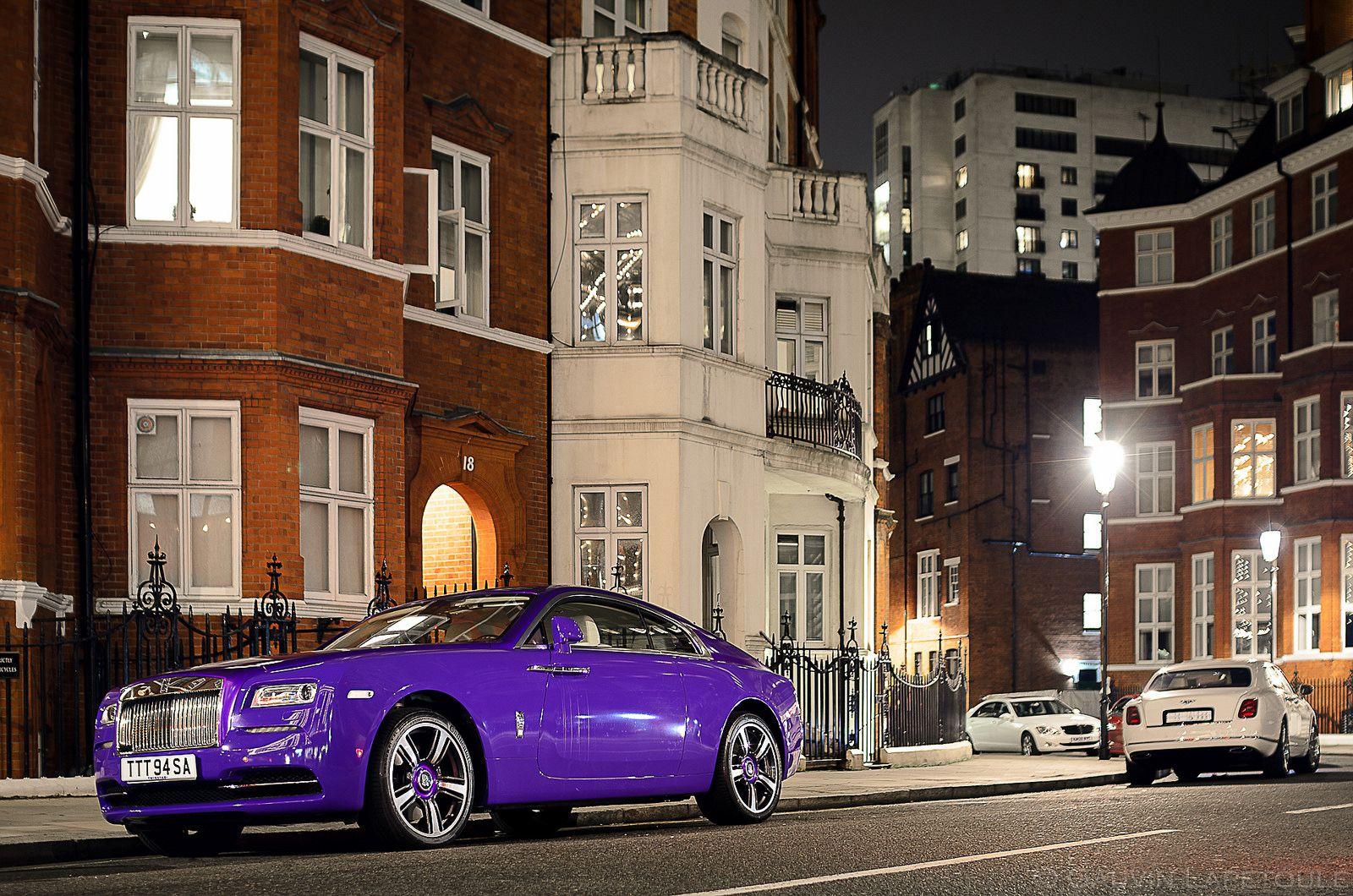 Rolls-Royce Wraith for sale: AED 880,000. Purple, 2016  |Covenant Wraith Purple