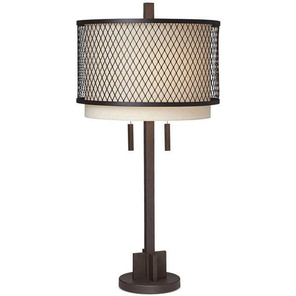 Pacific coast industrial double shade table lamp 127 liked on pacific coast industrial double shade table lamp 127 liked on polyvore featuring home aloadofball Gallery