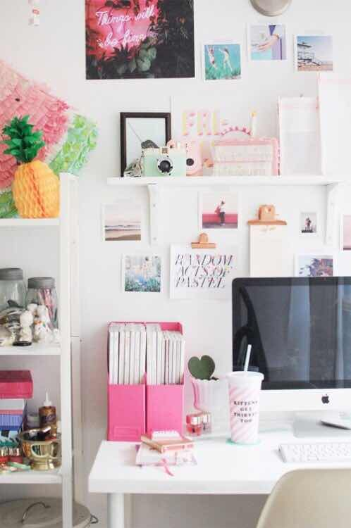 20 Ideas de Decoracin de Escritorios que te Encantarn Pinterest