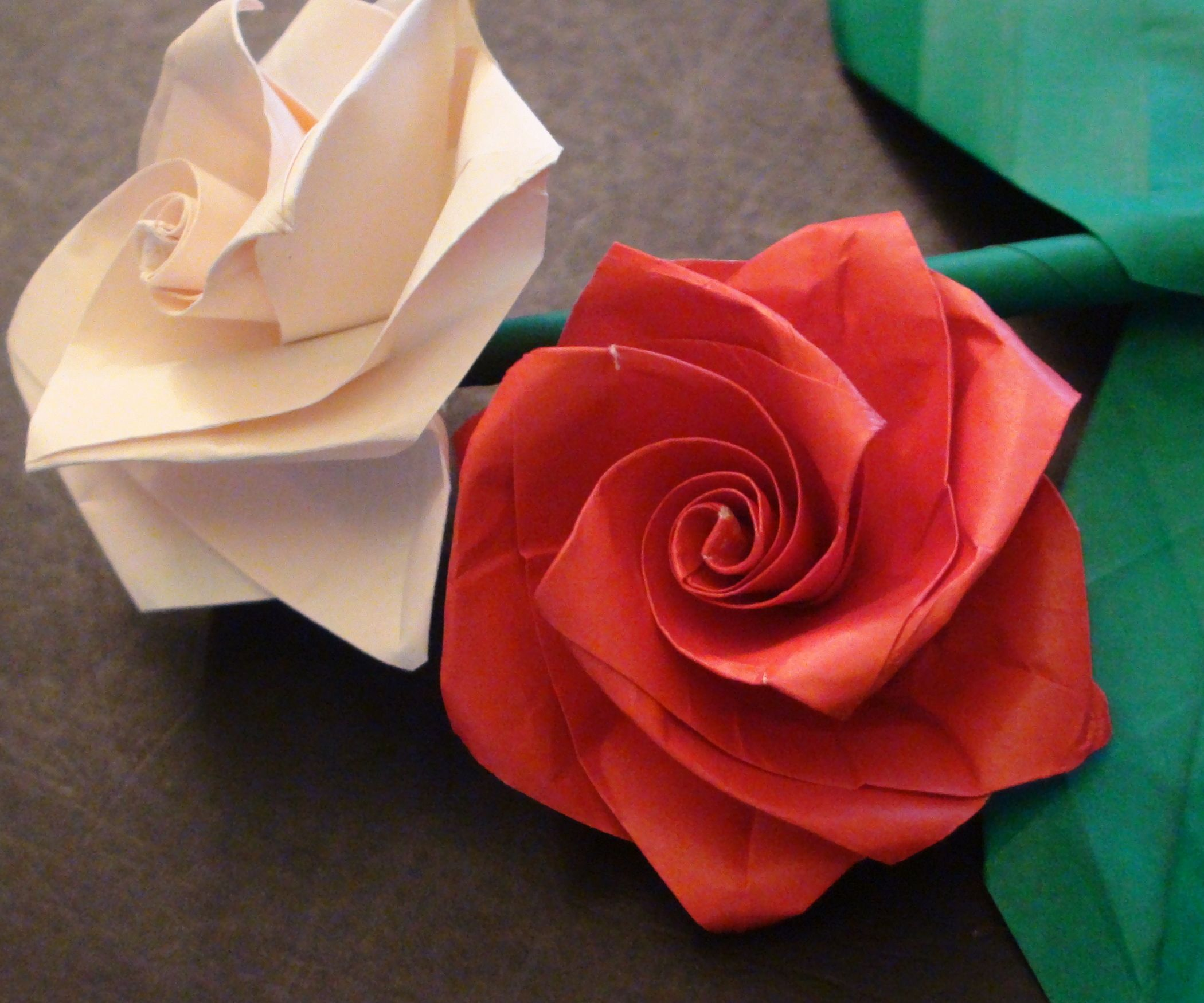 how to make a beautiful origami rose bouquet for valentines day