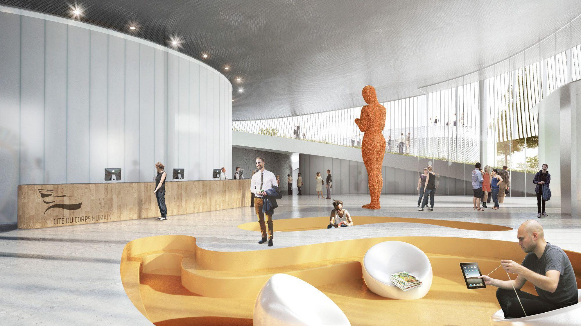 Galeria - BIG é selecionado para desenhar o Museu do Corpo Humano na França - 111