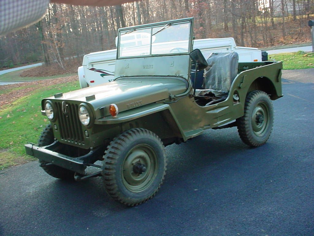Willys cj 2 jeep