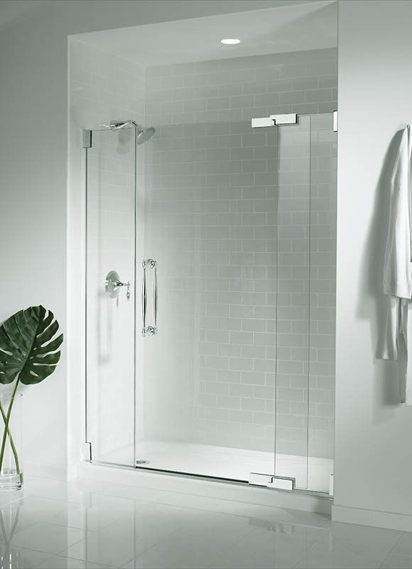 Kohler K 9054 Shower Doors Shower Base Stylish Bathroom