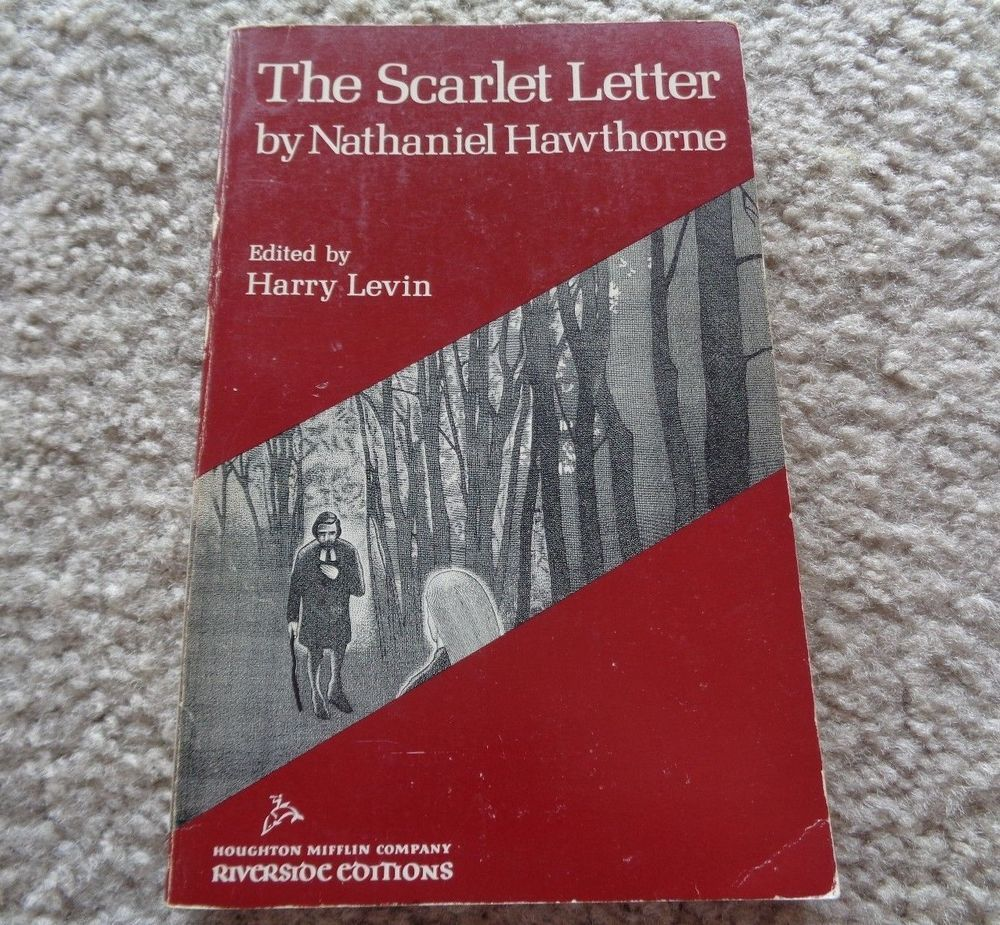 The Scarlet Letter by Nathaniel Hawthorne 1960 Paperback