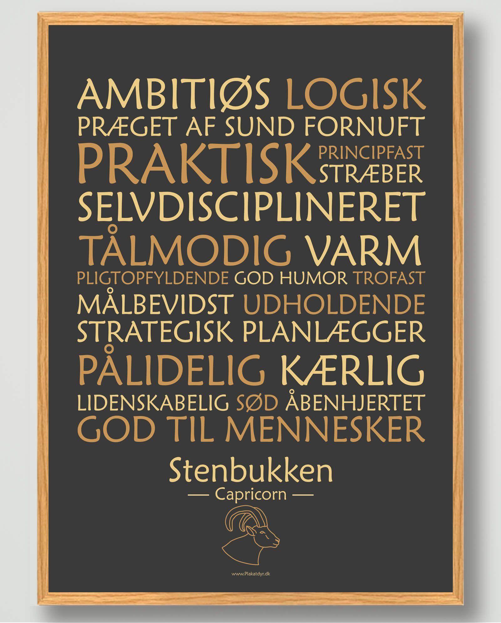 Stjernetegn | Produktkategorier | Plakatdyr.dk