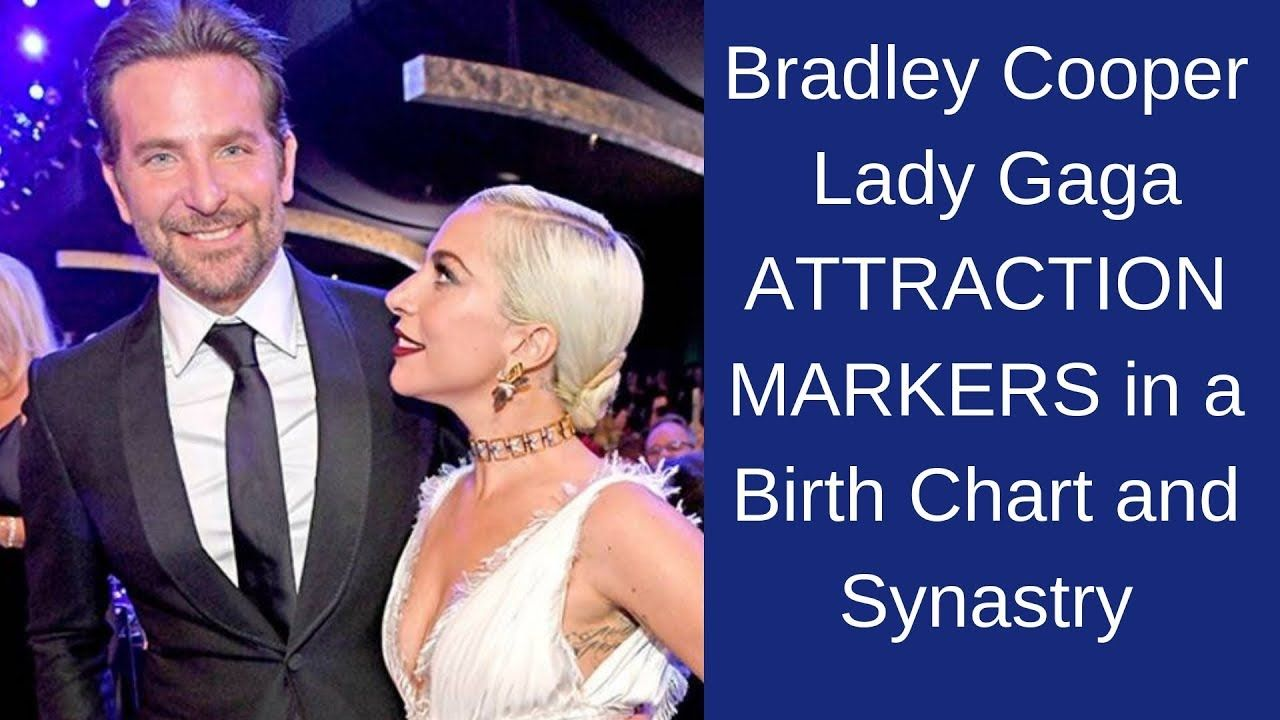 Bradley Cooper Lady Gaga Attraction Markers In Synastry Bradley Cooper Lady Gaga Attraction