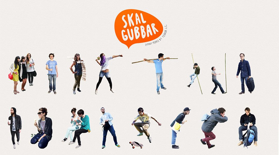 Skalgubbar Free 2d Cutout People 3d Architectural Visualization Rendering Blog
