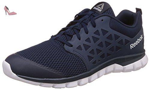 Reebok Sublite XT Cushion 2.0 MT, Chaussures de Running Homme, Bleu (Collegiate Navy/White/Pewter), 40.5 EU
