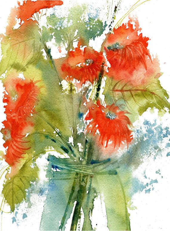 Facing West Asters Limited Edition Art Print