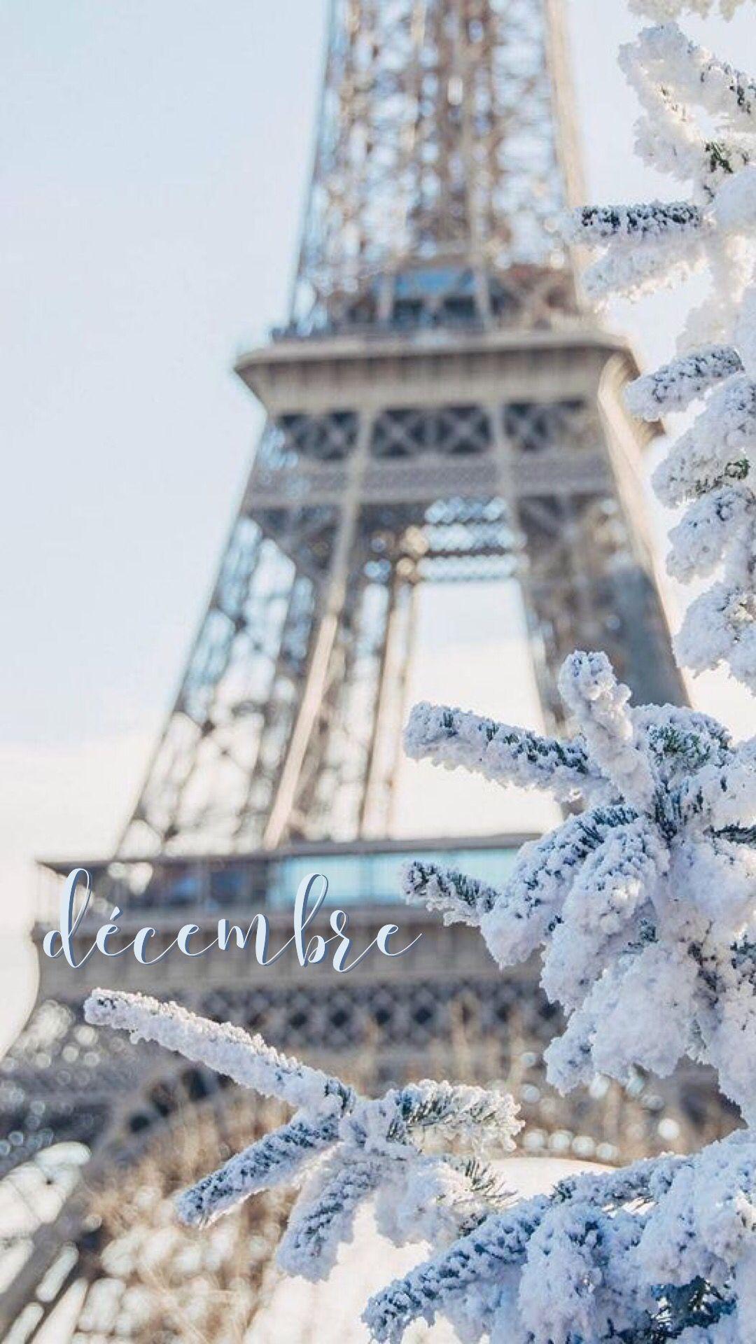 Decembre Paris Winter Toureiffel Parigi December Dicembre