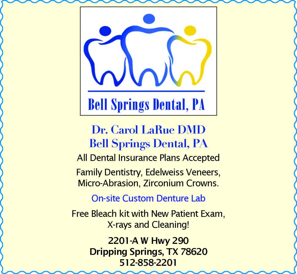 Dr Carol Larue Dmd All Dental Insurance Plans Accepted Family