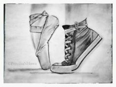 Shoes Arte Converse El … Drawings Ballet BZ4wqw