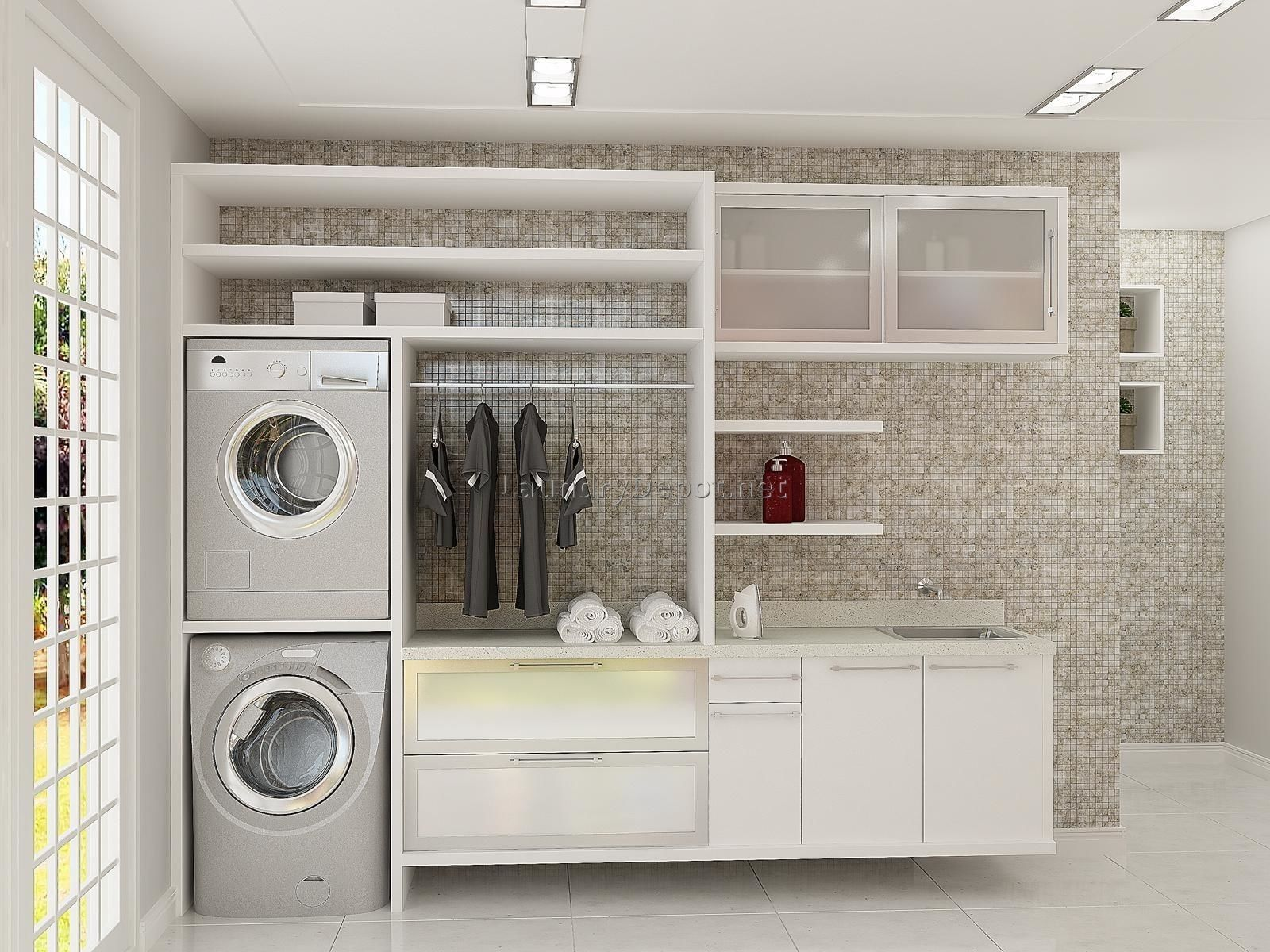 2018 Laundry Room Storage Cabinets Kitchen Shelf Display Ideas