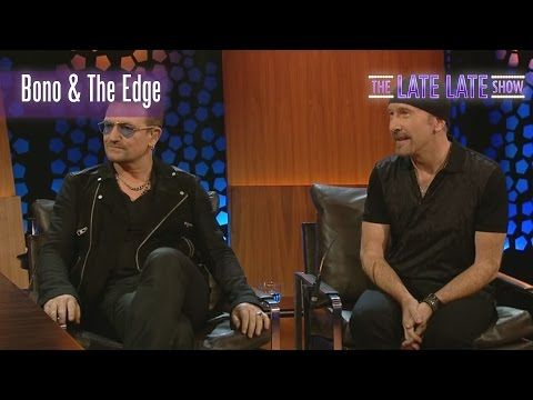 INCREDIBLE Bono and The Edge Interview and Performance | The Late