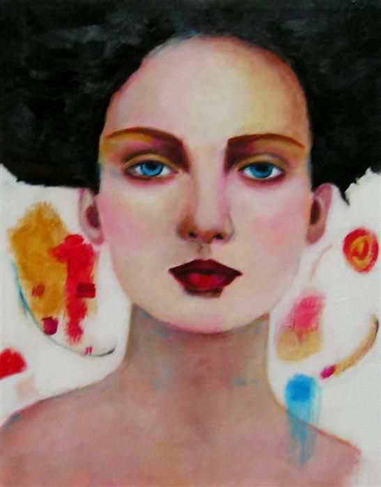 Original art for sale at UGallery.com | Helena by Haydee Torres | acrylic painting | 14' h x 11' w