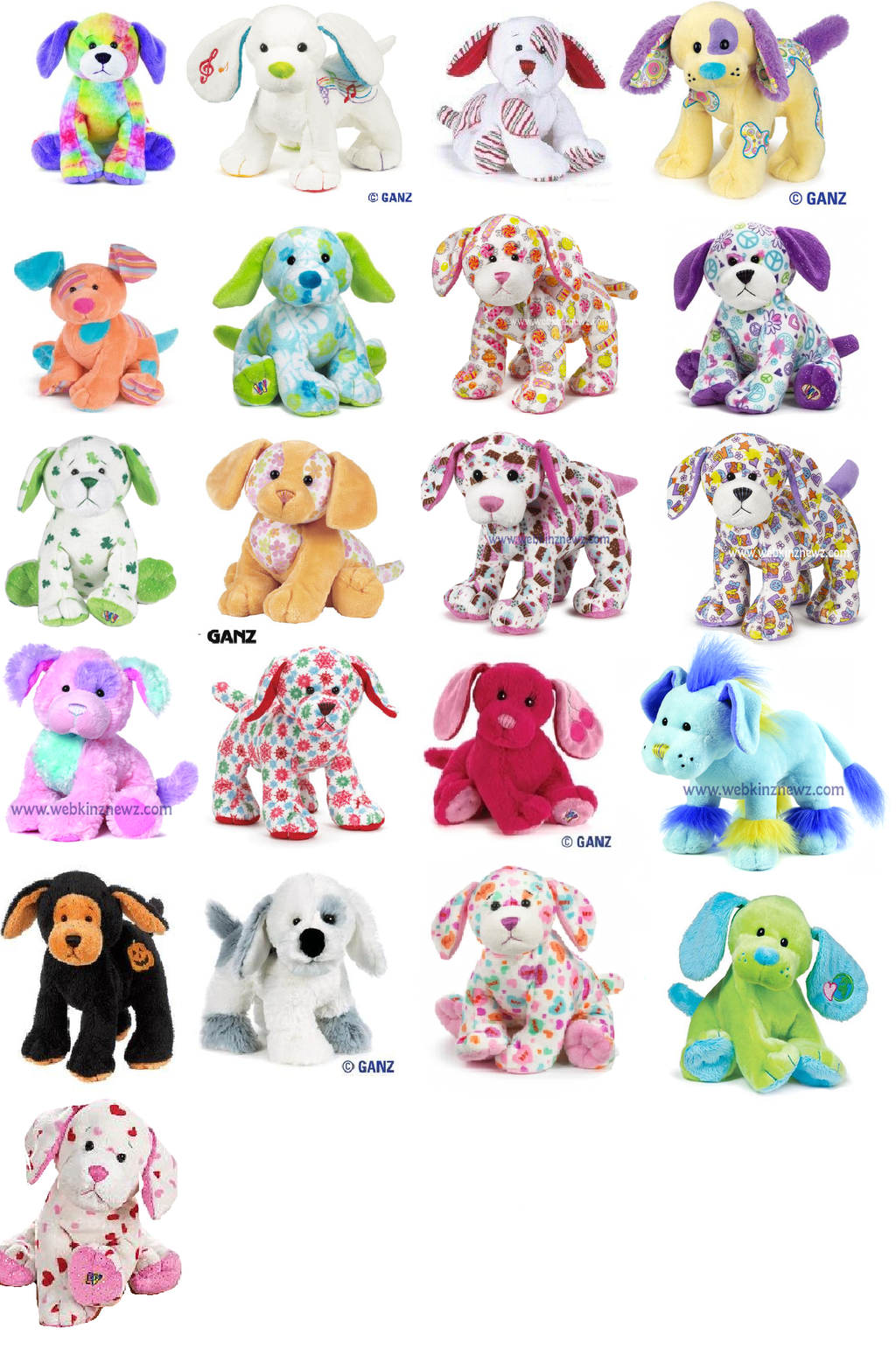 webkin dogs | ALL THE WEBKINZ PUPPIES (NOT FINISHED) by ~webkinzfun8 on  deviantART