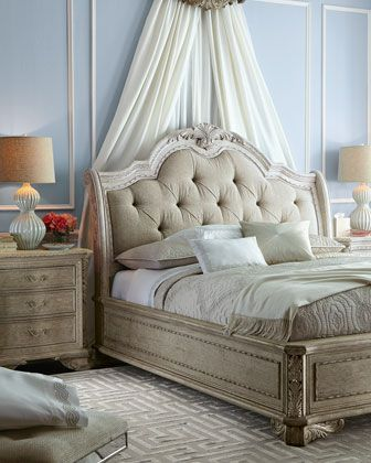 5y24 Camilla King Bed Camilla Queen Bed Furniture Furniture Design Bedroom Design